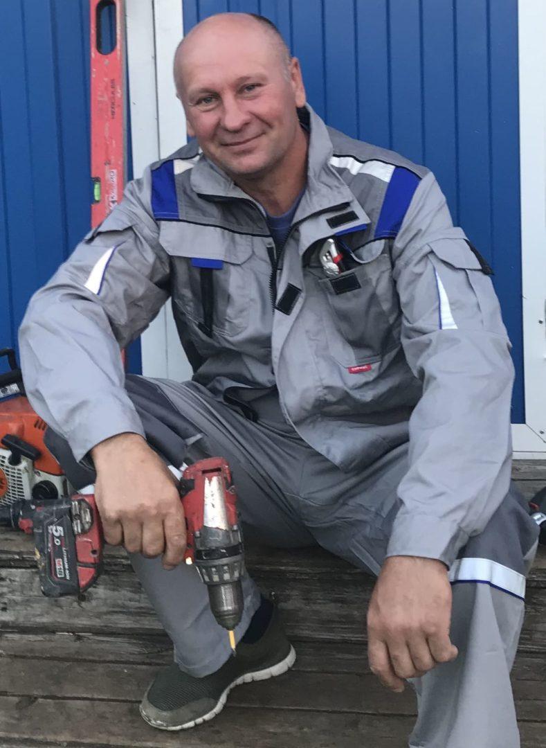 Андрей Бригадир, мастер высшей категории сотрудник компании ПроРемДом