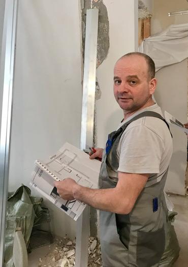 Виталий Строитель-отделочник сотрудник компании ПроРемДом