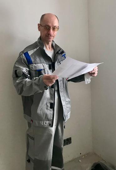 Евгений Строитель, Мастер-отделочник, Плотник сотрудник компании ПроРемДом