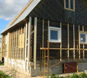 Отделка старого деревянного дома