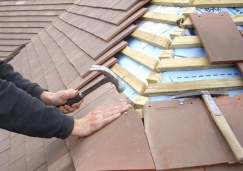 Что делать, если течет крыша в частном доме
